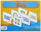 เกมส์จิ๊กซอว์จับคู่เวลา Match It Time