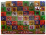 ของเล่นบล็อกตัวต่อ ก-ฮ + ตัวเลข รวม 56 ตัว
