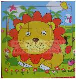 ของเล่นจิ๊กซอไม้ ลายสัตว์น่ารัก สีสันสดใส