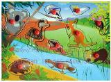 ของเล่นบล็อกไม้รูปสัตว์ต่างๆ