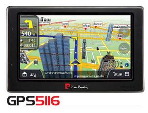 เครื่องจีพีเอส PIERRE CARDIN GPS 5116