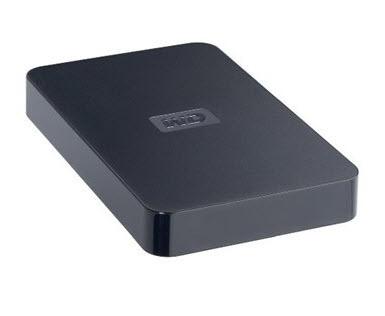 ฮาร์ดไดรฟ์พกพา Western Digital USB 2.0 500GB