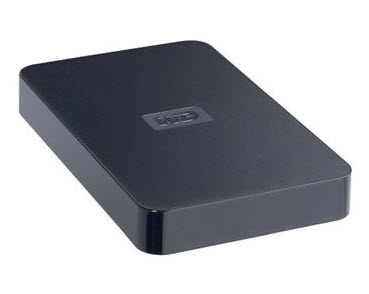 ฮาร์ดไดรฟ์พกพา Western Digital USB 2.0 320GB