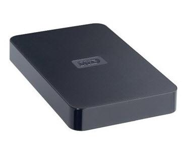 ฮาร์ดไดรฟ์พกพา Western Digital USB 2.0 250GB