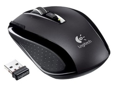 เมาส์ Logitech VX Nano Wireless Laser Mouse