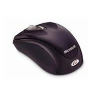 เมาส์Microsoft Wireless Notebook Optical Mouse 100
