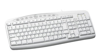 คีย์บอร์ด  Microsoft Wired Keyboard 500
