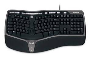 คีย์บอร์ด Microsoft Natural Ergonomic Keyboard 400
