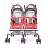 รถเข็นเด็กแฝด Camera Baby Stroller รุ่น C-BG-009 ก้านร่ม