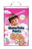 ผ้าอ้อมสำเร็จรูป Mamy Poko Pants L