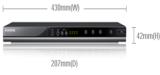เครื่องเล่นดีวีดี Samsung DVD-C450K/TSE