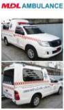 รถกระบะพยาบาลหลังคาสูง