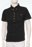 เสื้อ Polo shirt SD-112 BK