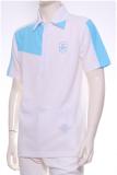 เสื้อ Polo Shirt A-3 WH/BU