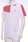 เสื้อ Polo Shirt A-3 WH/RE