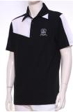 เสื้อ Polo Shirt A-3 BK/WH