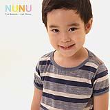 เสื้อผ้าเด็ก NuNu-Tee (Blue Stripe)