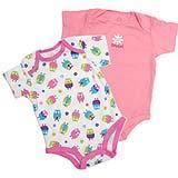 เสื้อผ้าเด็ก Body suit set 5 ชิ้น - โทนชมพู