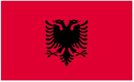 ธงชาติแอลเบเนีย