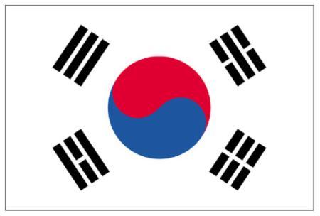 ธงชาติเกาหลีใต้