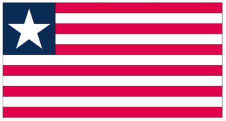 ธงชาติไลบีเรีย