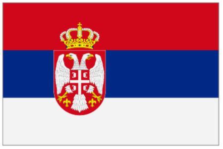 ธงชาติเซอร์เบีย