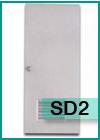 ประตูเหล็กบานเกล็ด SD2