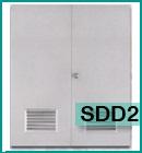 ประตูเหล็กบานเกล็ด SDD2