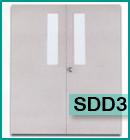 ประตูเหล็กแบบช่องกระจก SDD3