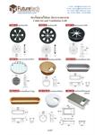ช่องร้อยสายไฟและ ช่องระบายอากาศ cable set and ventilation grill