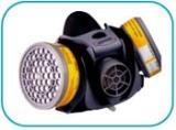 หน้ากากป้องกันฝุ่นและสารเคมีครึ่งหน้าท่อคู่ รหัสสินค้า 50168