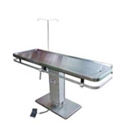 โต๊ะผ่าตัดสแตนเลสแบบหน้าเรียบ ระบบพาวเวอร์ลิฟท์