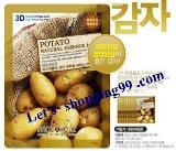 แผ่นมาร์คหน้า-FOODAHOLIC 3D Mask Potato 23 g.
