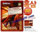 แผ่นมาร์คหน้า-FOODAHOLIC 3D Mask Red Ginseng 23 g.