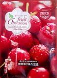 แผ่นมาร์คหน้า-Fruit Obsession pure white Cherry mask
