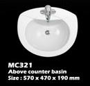 อ่างบนเคาน์เตอร์ในห้องน้ำ (MC321)