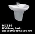 อ่างติดผนัง ในห้องน้ำ(MC239)