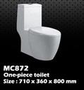 โถสุขภัณฑ์(MC872)