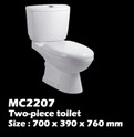 โถสุขภัณฑ์(MC2207)