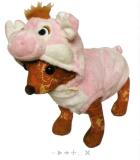 ชุดแฟนซีสุนัข เสื้อหัวสัตว์หมู รหัส-SFAc002