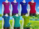 บริการผลิตเสื้อยืดเข้ารูป(ผู้หญิง) GDT006