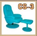 เก้าอี้โซฟา ขากลม หมุน/ปรับเอนนอนได้รุ่น CS-3