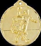 เหรียญรางวัล Basketball Medal 5 cm.