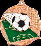 เหรียญรางวัล Bronze Football Medal 5 cm.