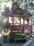บ้านน็อคดาวน์ ซุ้มไม้ บ้านเรือนไทย 002