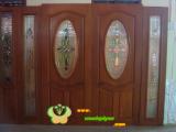 ประตูไม้สัก บานคู่  14