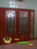ประตูไม้สัก บานคู่  19