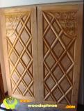 ประตูไม้สัก บานคู่ 29