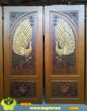ประตูไม้สัก บานคู่ 47