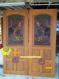 ประตูไม้สัก บานคู่ 49